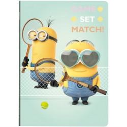 Minions A4 21x29,7cm Tennis...