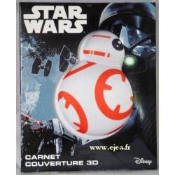 Star Wars Carnet 3D BB8
