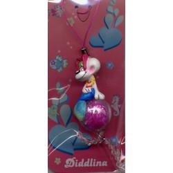 Figurine Diddlina océan rose
