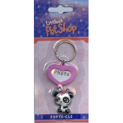 Porte-clé photo PetShop