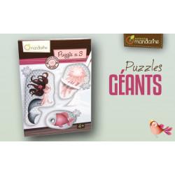 3 Puzzles géants Sirènes...