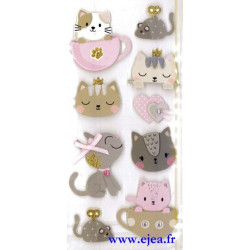 Stickers Sceny Chatons mignons