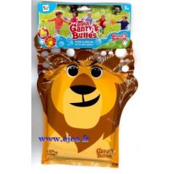 Mon gant à bulles Lion