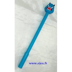Stylo Monstre bleu