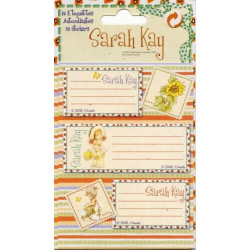 12 étiquettes Sarah Kay