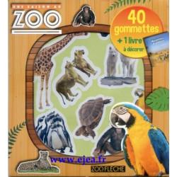 Une Saison au Zoo 40 gommettes