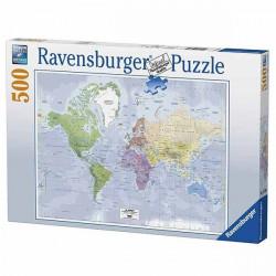 Puzzle Carte du monde 500...