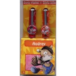 Parure stylos Diddl Audrey