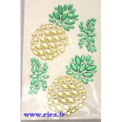 Stickers Strass Ananas