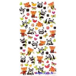 Stickers TWEENY Pandas et...