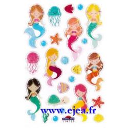 Stickers Mini Sweet Sirènes