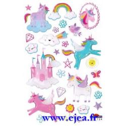 Stickers Mini Sweet Licornes