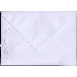 20 enveloppes blanches...