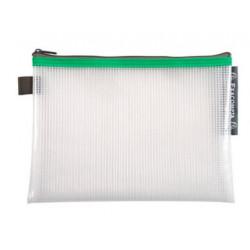 Pochette Zip A5 vert