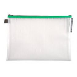 Pochette Zip A4+ vert