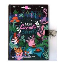 Mon Carnet Secret Jungle Ma...