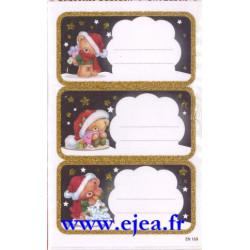 Etiquettes cadeaux de Noël...