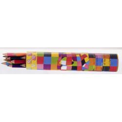 Elmer 12 crayons de couleurs