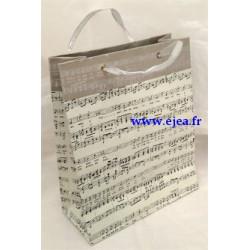Grand sac cadeau musique...