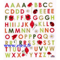 Stickers Classy ABC Nature