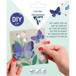 Kit DIY Carte Pop-up Papillons