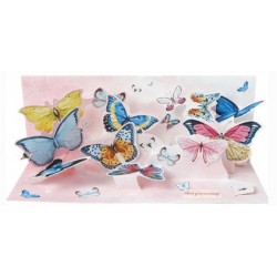 Maxi Carte pop-up Papillons