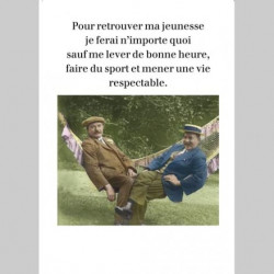 Carte Rétro Fun Pour...