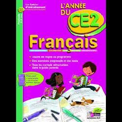 CAHIER D'ENTRAINEMENT L'ANNEE DE FRANCAIS CE2