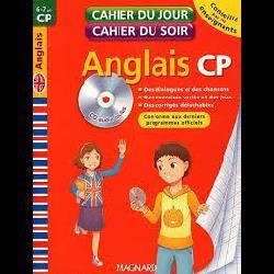 Cahier du jour / soir anglais CP