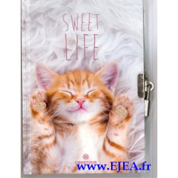 Journal intime Chaton Sweet...