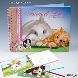 Animal Love cahier de...