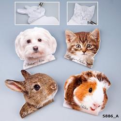 Animal Love Notes adhésives