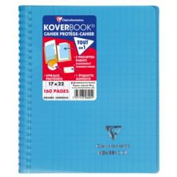 Cahier Koverbook bleu...