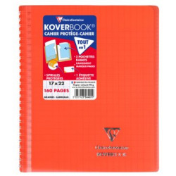 Cahier Koverbook rouge...