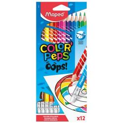 Color' Peps 12 crayons de...