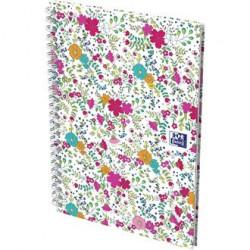 Cahier Oxford Floral A6 5x5...