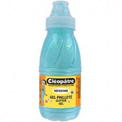 Gel pailleté Cléopâtre bleu...