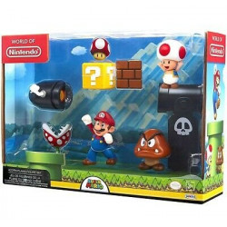 Set de figurines Super Mario