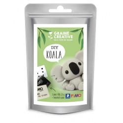DIY Koala Fimo Graine Créative