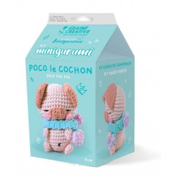 Kit Minigurumi Poco le cochon