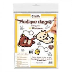 Plastique Dingue Rilakkuma