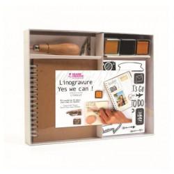 Kit complet de Linogravure...