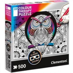 Puzzle 3D Colour Therapy...