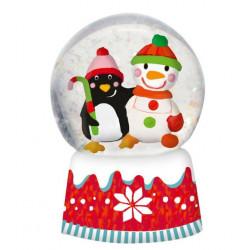 Boule à neige Noël Amis du...