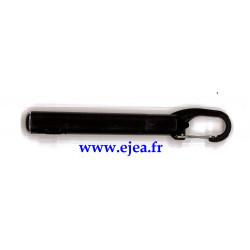 Stylo LED porte-clé Noir