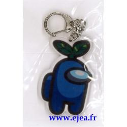 Among Us Porte-clé bleu