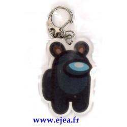 Among Us Porte-clé noir