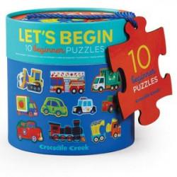 10 Puzzles 2 pièces Les...