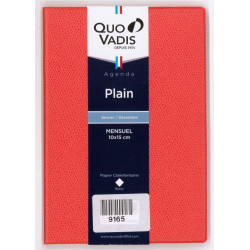 Agenda Plain 2021 orange...