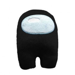 Among Us mini peluche noir